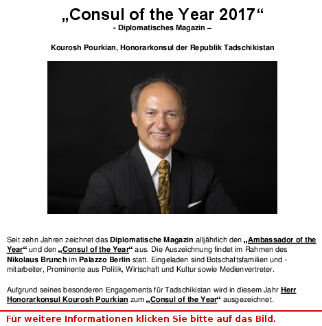 Consul of the Year 2017