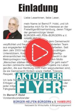 Flyer FreiwilligenBörseHamburg